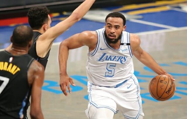 Talen Horton-Tucker, Los Angeles Lakers, Brooklyn Nets