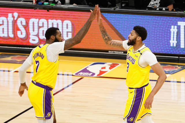 Andre Drummond, Anthony Davis, Lakers