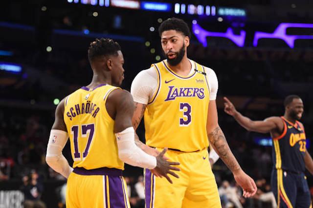 Dennis Schroder, Anthony Davis, Lakers