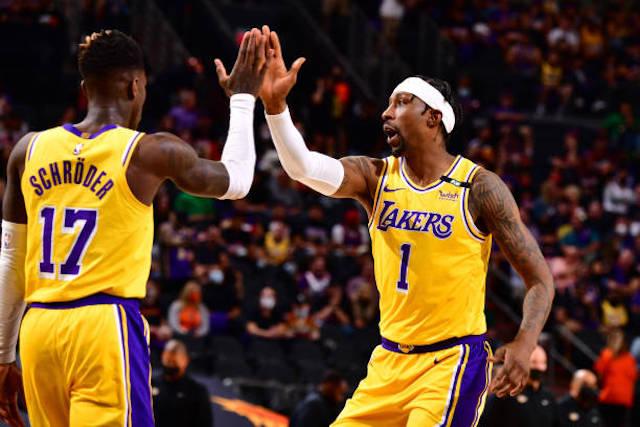 Dennis Schroder, Kentavious Caldwell Pope, Lakers