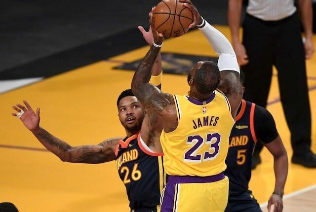Lebron James, Lakers, Kent Bazemore