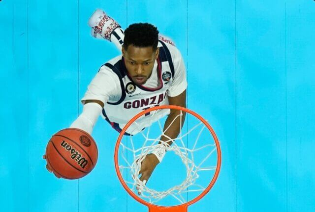 Joel Ayayi, Lakers, Gonzaga