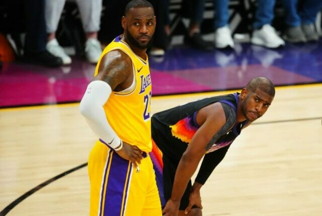 LeBron James, Chris Paul, Suns, Lakers