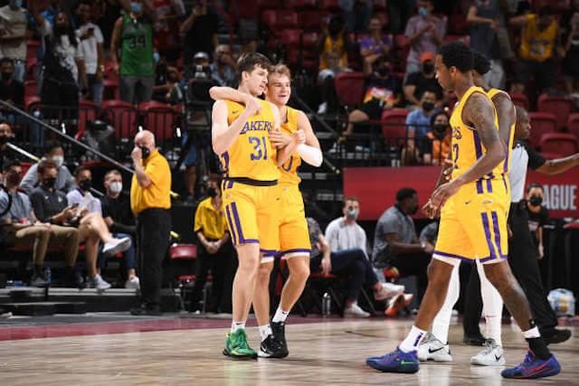 Austin Reaves, Mac McClung, Lakers