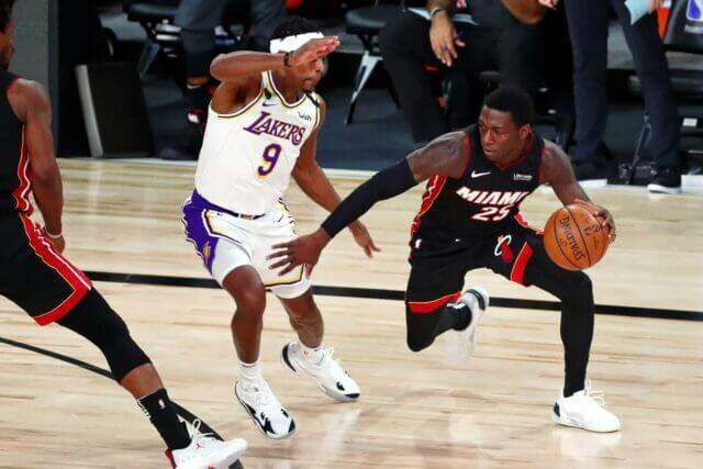 Kendrick Nunn, Lakers, Heat