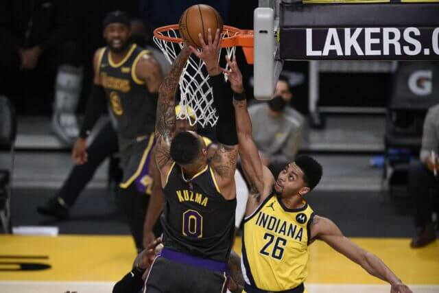 Jeremy Lamb, Lakers, Pacers