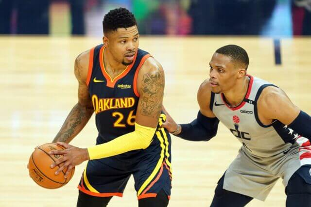 Kent Bazemore, Russell Westbrook, Lakers