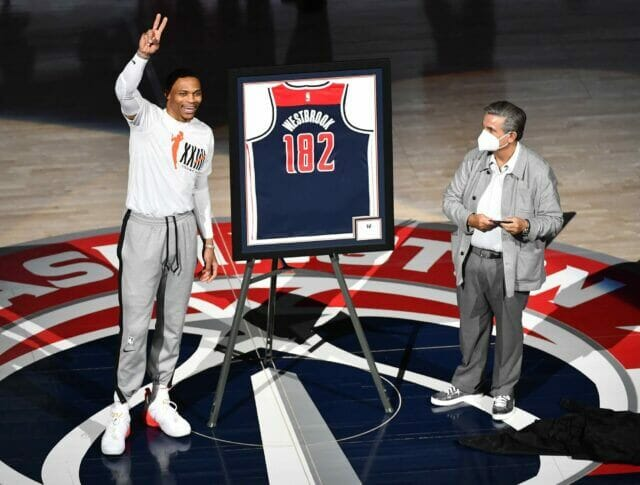 Ted Leonsis, Russell Westbrook, Wizards