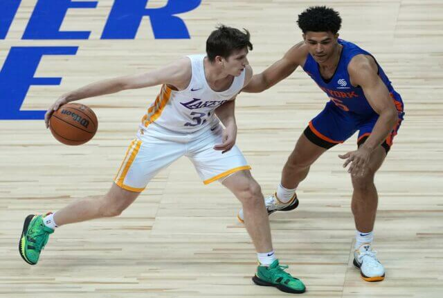 Austin Reaves, Lakers