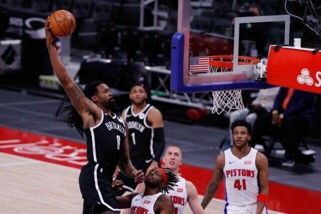 DeAndre Jordan, Nets, Pistons