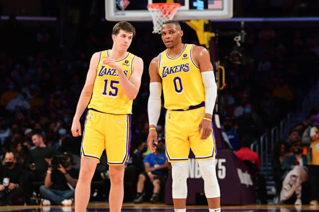 Austin Reaves Russell Westbrook Lakers