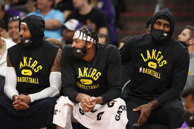 Carmelo Anthony, Anthony Davis, LeBron James, Lakers