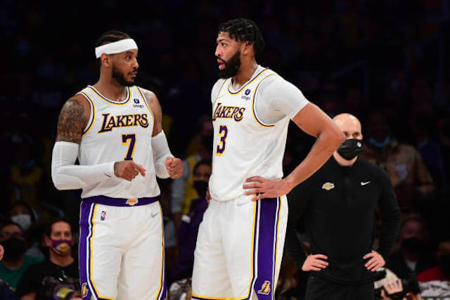 Lakers News: Anthony Davis Pays Respect To Carmelo Anthony's Career