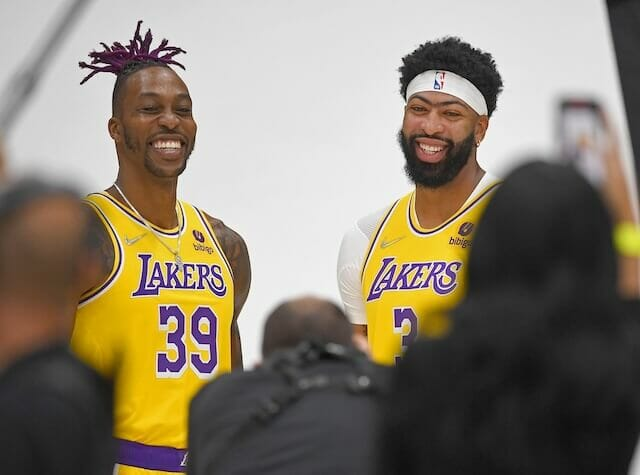 Lakers News: Dwight Howard Says He & Anthony Davis 'Squashed' Beef After Incident On Bench