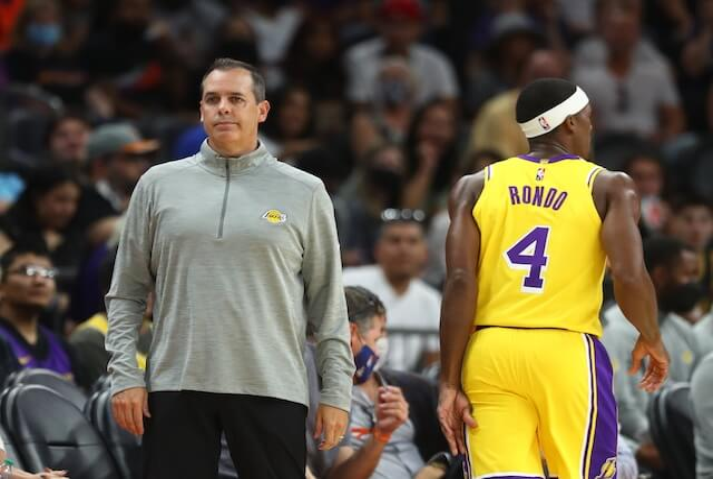 Frank Vogel, Rajon Rondo, Lakers