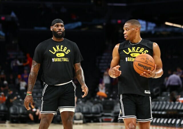 LeBron James Believes Lakers Accomplished Building Chemistry This Training Camp