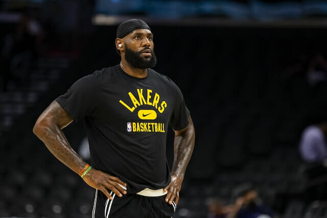Lakers Injury Update: LeBron James Downgraded From Probable To Questionable For Game Against Spurs