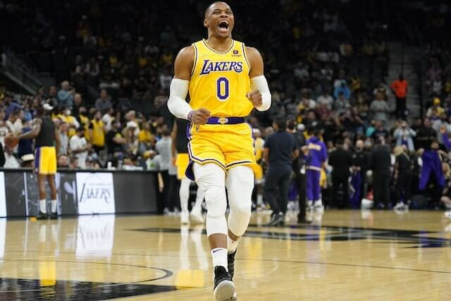 Russell Westbrook & Malik Monk Impressed By Loud Support From Lakers Fans Away From Home