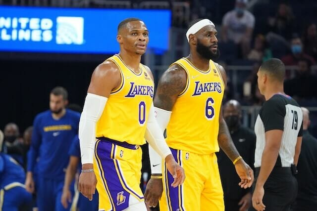 Lakers Expect A Lot From LeBron James-Russell Westbrook Pick-And-Roll
