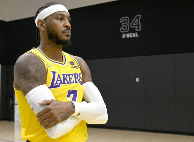 Carmelo Anthony, Lakers
